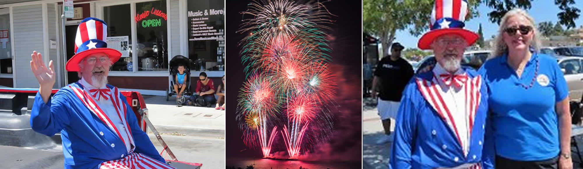 Antioch Fireworks